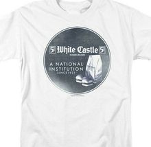White Castle T-shirt A National Institution 1921 retro graphic tee WHT133 image 3