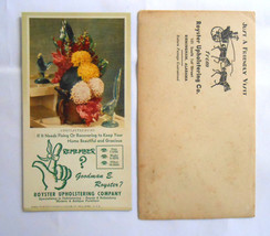 Vintage 1940's 1950's African American business card and envelope - $14.85