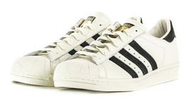 Adidas Originaux Superstar 80s Dlx Baskets Homme Chaussures Cuir - Vinta... - $91.54
