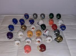VINTAGE NFL FOOTBALL GUMBALL HELMETS 29 Helmet Lot  - $26.90