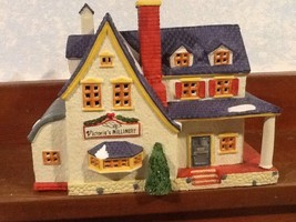 Lemax Hearthside - Victoria's Millinery House - #44683 - 1995 - EUC - $14.95