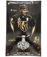 Vegas Golden Knights Capital Stanley Cup Final Reilly Smith Game 5 Poste... - $16.82