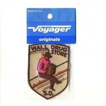 """Voyager Wall Drug Store SD South Dakota 2.75"""" Souvenir Patch - $11.43"""