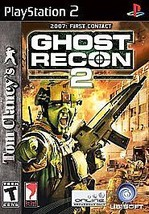 Tom Clancy's Ghost Recon 2 (Sony PlayStation 2 2004) PS2 game 2007 First... - $7.99