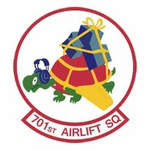 USAF 701st Airlift Squadron 12'' Sticker - $24.74