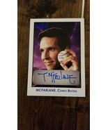 2010 TRISTAR OBAK AUTO SIGNED CARD TODD MCFARLANE SPAWN BATMAN SUPERMAN ... - $39.59
