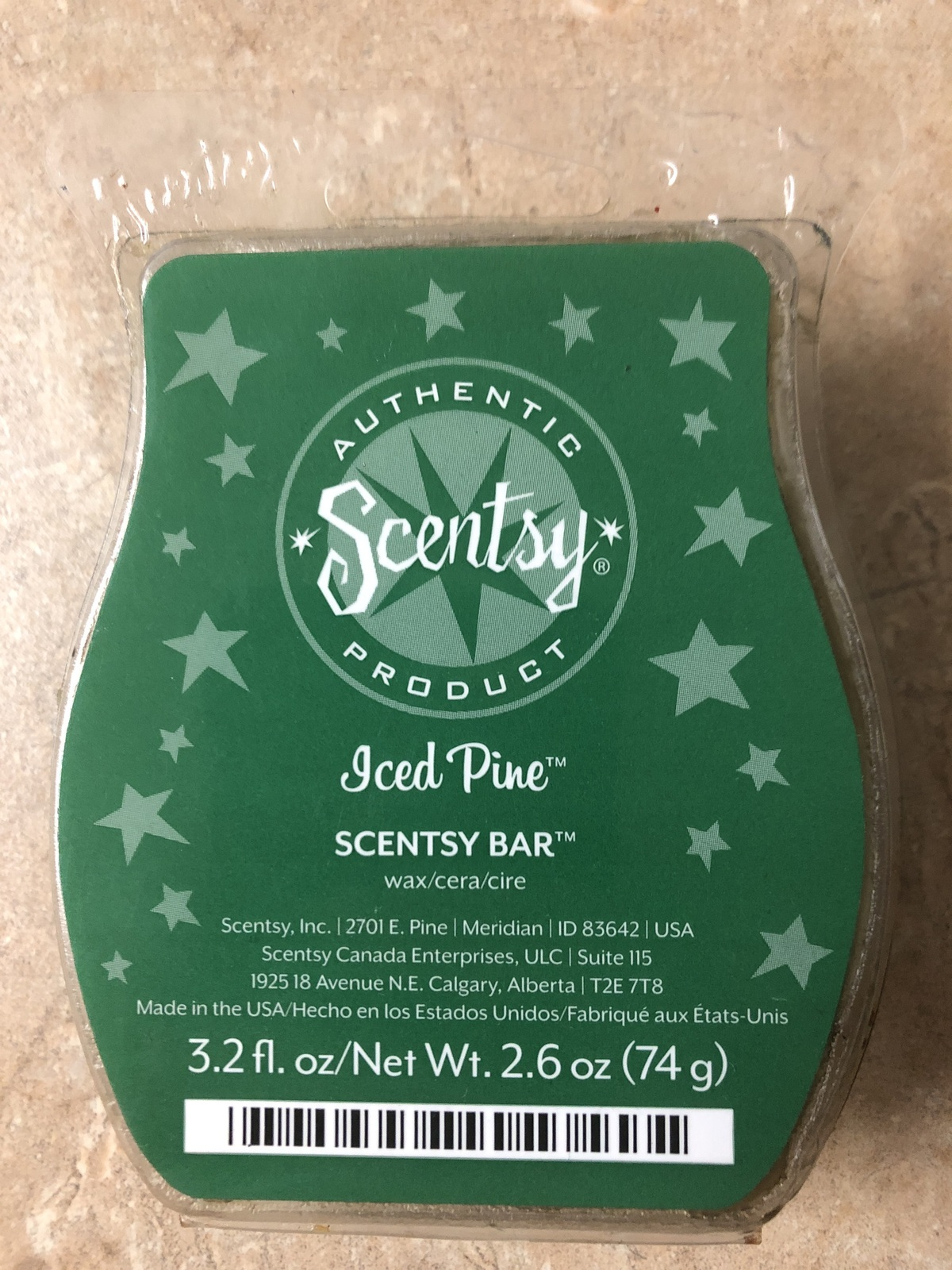 Primary image for Scentsy Iced Pine Wax Cubes Rare Scent New