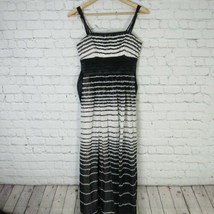 BCBG Dress Womens Size 0 Black White Maxi - $18.50