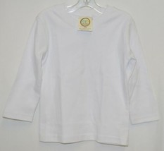 Blanks Boutique Boys Long Sleeve White Tee Shirt 18 Months image 1