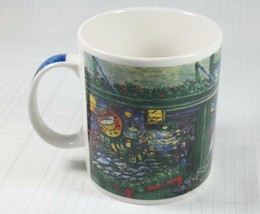 STARBUCKS Coffee Mug Depicting 1st Location at Pike Place Farmers Market... - $22.75
