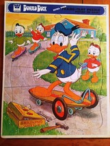 Set of 3 Disney Frame-Tray Puzzles- Donald Duck/Mickey Mouse/Pluto/Goofy - $12.34