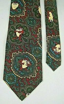 Looney Tunes Taz Tasmanian Devil Mania Cartoons Tie Necktie Silk - $9.70