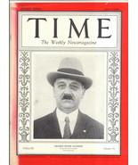 MAGAZINE TIME  Amadeo Peter Giannini APRIL 2  1928 - $69.29