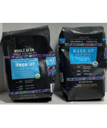 2 Bags Mash-Up Colombia + Sumatra Blend Whole Bean Coffee, Medium Roast ... - $26.11