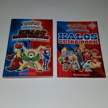 Pokemon Kalos Region Handbook 2014 Guidebook 2016 Paperback Book Lot - $19.75