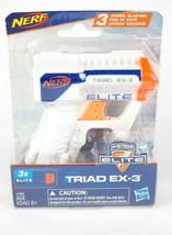 Nerf N-Strike Elite Triad EX-3 Blaster By Hasbro - $9.89