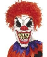 Scary Clown Mask, Foam Latex, One Size, Halloween Fancy Dress Accessorie... - $19.95