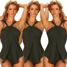 New Summer Fashion Sexy One Piece Halter Swimsuit Women S-XXXL Size Swim... - $36.72