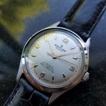 BREITLING Men's Midsize 2916 Hand-Wind Dress Watch c.1950s Swiss Vintage MS107 - $2,344.14
