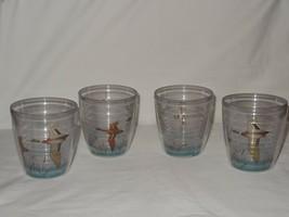 4 Doublewalled Thermal Tumblers Glasses Mallard Duck KH No 419 Hongkong ... - $19.99