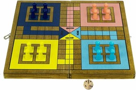 Pachisi - Traditional / Classic Wooden Family Board Game image 2