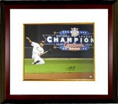 So Taguchi signed St. Louis Cardinals 16x20 Photo Sliding Custom Framed ... - $129.00