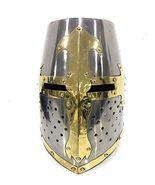 NauticalMart Crusader Great Helm Medieval Knights Templar Helmet Armor S... - $199.00