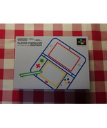 New article unopened New Nintendo 3DS LL Super Nintendo Edition - $359.98
