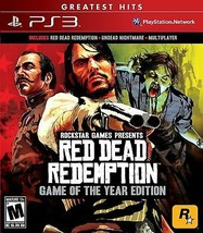 Red Dead Redemption Game Of The Year Playstation 3 Disco - $38.99