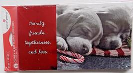 6 Puppy Photo Christmas Money Gift Card Holders & Envelopes - $3.99