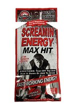 Screamin Energy Max Hit Energy Shot Panax Ginseng! Coffee Mocha Flavor- ... - $28.55