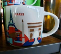 Starbucks You Are Here City Coffee Mug Paris France YAH Eiffel Tower Not... - $70.27