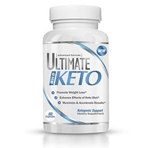 Ultimate Keto - BHB Exogenous Ketones Supplement - Weight Loss and Keto ... - $27.22