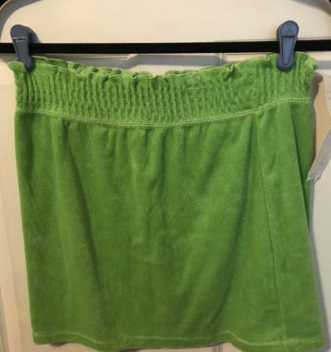 Curve Green Stretch Skirt Size Medium