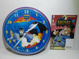 BATMAN BRAVE AND THE BOLD CLOCK + BATMAN ADVENTURES #1 - FREE SHIPPING - $28.05