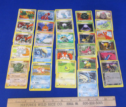 Pokemon Card Deck 97 Nintendo Creature Gamefreak  Lot of 27 - $16.82