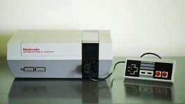 Original NES NINTENDO Video Game Console with NEW 72 Pin Connector - $99.97