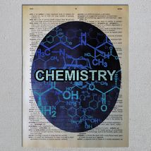 Choose a Science Biology Chemistry Physics Astronomy Dictionary Art Print image 5