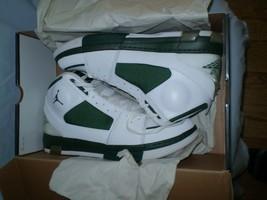 Nike Air Jordan OL'SCHOOL ll 331819 106 White metallic silver -D Green s... - $142.49