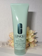 Clinique 7 Day Scrub Cream Cleanse & Rinse Off Cleaner Wash 8.5 oz Free Ship - $20.74