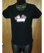VANS T Shirt Top Medium Black WARPED TOUR 03 Cinder Block License SWEATS... - $19.75