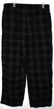 Merona Blue Green Plaid Pajama Lounge Sleepwear PJ Pants Men's Size L 36-38 image 2