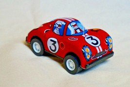 """New Vintage Tin Toy Sanko Metal Friction 3"""" Red Ferrari Race Car Made in... - $13.81"""