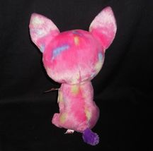 "9"" TY BEANIE BOOS CANCUN PINK CHIHUAHUA PUPPY DOG STUFFED ANIMAL PLUSH TOY W TAG image 5"