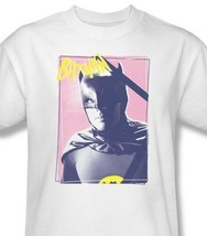 Batman T-shirt Polaroid retro 60s TV Show DC comics white 100% cotton tee BMT115 image 2