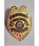 Monroe Police Department Lapel Mini Badge Pin - $15.95