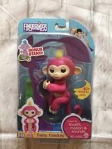 WowWee Fingerlings Interactive Baby Monkey Toy Bella New In Package Gift - $26.18