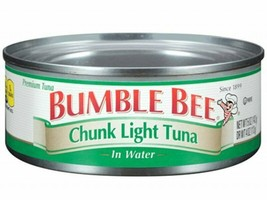 Bumble Bee Chunk Light Premium Tuna in Water 5.0 oz , 85 cans Included - $202.50
