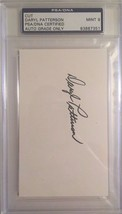 Daryl Patterson Autographed 3X5 Cut PSA/DNA MINT 9 Certified - $19.34