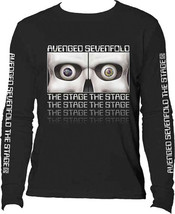 Avenged Sevenfold-Eyes-The Stage-XXL Longsleeve Black T-shirt - $17.41